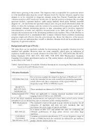 Ird Mechanalysis Vibration Chart Vibration Levels For Machine Tools Vibration Levels For