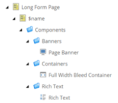 Branch Template Using Sitecore Branch Templates To Create Structured Content