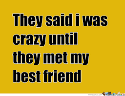 They Said I Was Crazy Until They Met My Best Friend by miku ... via Relatably.com