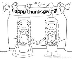 thanksgiving pilgrim girl coloring pages.  Girl The Pilgrims And Indians Were Friends At Some Point Talk To Your Child  About Friendship Print Coloring Page By Quirky Bird For Thanksgiving Pilgrim Girl Pages L