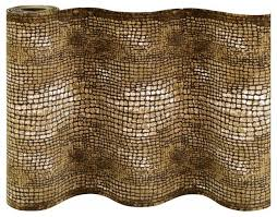 alligator 26 wide animal print staircase runners contemporary hall and stair runners by rug and more