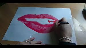 Dessin Speed Drawing Dessiner Une Bouche R Aliste Youtube
