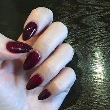 Almond Acrylic Nails Trending Short Tumblr Proartcat Arttonail