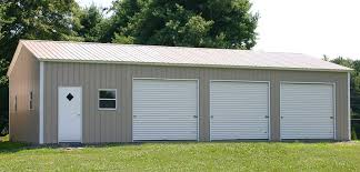 3 car garage dimensions and cost