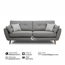 Sofa Vintage Minimalis Zinc CREATEAK FURNITURE CREATEAK FURNITURE