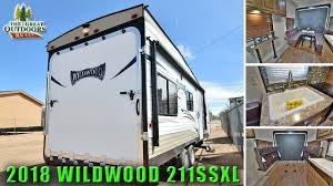 2017 toy hauler travel trailer wildwood 211ssxl quads dirt bikes motorcycles colorado rv dealer