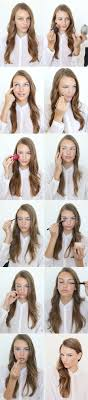 Hairstyle According To My Face 25 Best Ideas About Simple Everyday Hairstyles On Pinterest