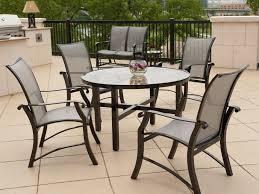 furniture aluminum outdoor dining table cast aluminum