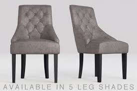 grey dining room chairs. set of 2 winchester dining chair grey room chairs