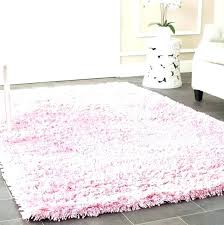 round pink rug nursery rugs for light home baby girl floor 5 ft ruffle grips gy round pink rugs for nursery rug