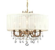 bronze drum chandelier 5 light crystal drum chandelier ceiling fixture oil rubbed bronze in crystal drum