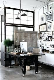 office space memorabilia. Home Office Dark Wood Industrial White Walls Space Memorabilia P
