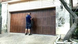 cost of new garage door installed how much is a garage door installed garage door spring