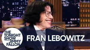 Fran Lebowitz Tries to Not Talk About Her Netflix Series with Martin  Scorsese - YouTube