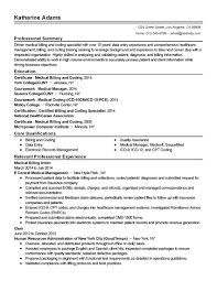 Medical Billing Resume Samples Resume Samples College Students What To Do When You Get Stuck 16