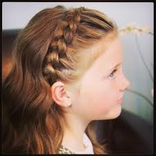 Hairstyles For Little Kids Pretty Little Girl Hairstyles Immodell