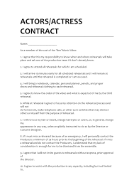 Advertising Contract Agreement. Part Of A Havasvendor Contract ...