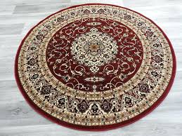 round rug sizes traditional red round rug size x cm rug sizes for beds 5x8 rug