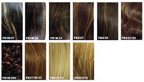 Fs4 27 Color Chart Hair Color Chart