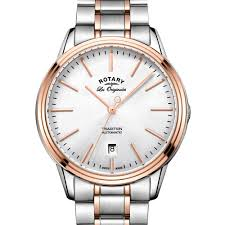 rotary tradition men s two tone swiss watch gb90162 59 rotary rotary tradition men s two tone swiss watch gb90162 59