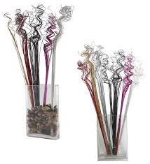 Amazon.com: Silver Sparkle Glitter Curly Ting Ting Branches Vase Filler for  Wedding, Holiday & Home Decoration by Royal Imports, 26, 75 Stems: Arts,  ...