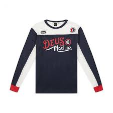 Deus Ex Machina Clothing Size Chart Sweat Fraidon Moto Jersey Deus Ex Machina