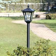 solar yard light post lamp lighting parking lot lights commercial pole large yard light post a23