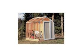 storage shed kit building barn outdoor wood framing diy garage garden utility