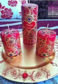 Pin by Alyson Marrero on decoración de velas   Candles, Mehndi ...