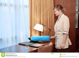 dusting furniture. Hotel Maid Dusting Furniture Stock Image - Of Cleaning, Bedding: 51745695