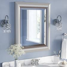 silver framed bathroom mirrors. Bedding:Cute Silver Bathroom Mirror 0 Rectangle Curved Wall Cute . Framed Mirrors