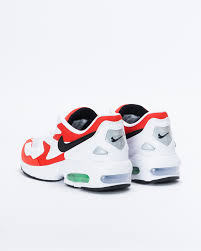 Air Max Light Nike Air Max 2 Light White Black Habanero Red Cool Grey