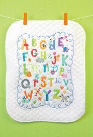 Dimensions Alphabet Quilt - Stamped Cross Stitch Kit 70-73696 ... & Alphabet Quilt - Stamped Cross Stitch Kit Adamdwight.com