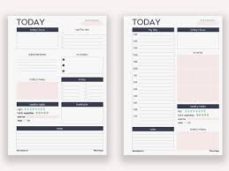 Personal Planner Template Printable Personal Planner Inserts Shop Fresh
