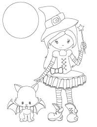 Color something creepy this halloween with free coloring pages for kids and adults! 25 Free Printable Halloween Coloring Pages The Artisan Life