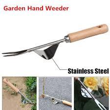 stainless steel garden weeder hand