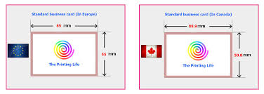 wallet size photo dimension the most used standard business card sizes and dimensions in