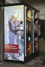 Vending Machines Jobs Impressive 48 Clever Uses Of Stickers In Advertising Funny And Clever