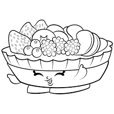 Free Printable Shopkins Coloring Pages Free Coloring Sheets