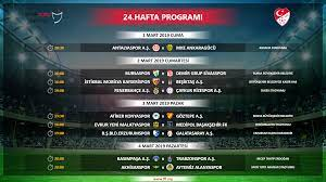 Spor Toto Süper Lig 23 ve 24. hafta programı açıklandı - Süper Lig  Haberleri TFF