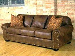 brown leather studded couch couches for modern and home improvement winning sofa