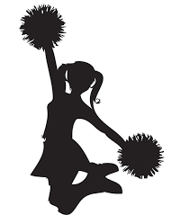 Image result for cheerleader picture yellow and white