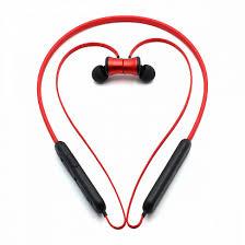 <b>Наушники</b> с микрофоном Bluetooth <b>Hoco ES29</b> красные