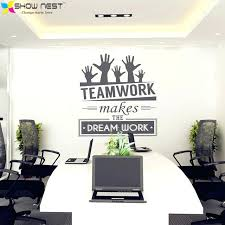 wall decor for office. Wall Decor For Office At Work Stickers Vinyl Decal Art Mural . L