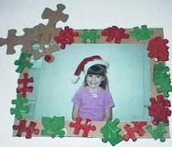 Christmas Photo Frames For Kids Puzzle Piece Picture Frame
