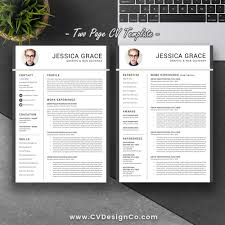 Best Resume Design Most Popular Resume Template Modern Creative Resume Design Cover 35