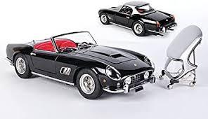 Ferrari 250 Gt Swb California Spyder Schwarz 1961 Modellauto Fertigmodell Cmc 1 18 Amazon De Spielzeug