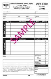 auto repair forms details about 100 custom auto repair carbonless forms invoices free numbering tmg048