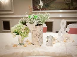DIY Wedding Table Decorations