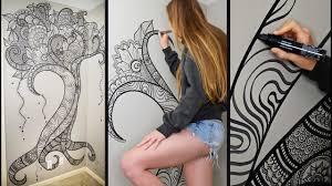 Henna Wall Designs Henna Tree Wall Art Mehndi Design